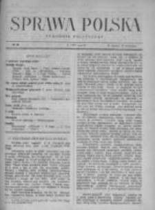 Sprawa Polska. Tygodnik polityczny 1917, R. 3, Tom II, Nr 33