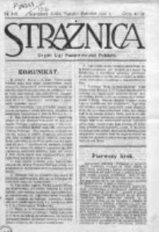 Strażnica. Tygodnik poświęcony polityce polskiej oraz sprawom kulturalnym i społeczno-ekonomicznym 1916