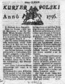 Kuryer Polski 1756, Nr 174