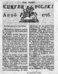 Kuryer Polski 1756, Nr 175