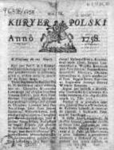 Kuryer Polski 1758, Nr 9