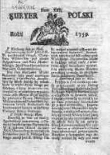 Kuryer Polski 1759, Nr 22