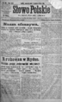 Słowo Polskie 1920, R.25, IV, Nr 461