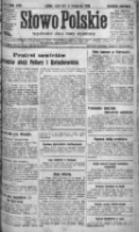 Słowo Polskie 1920, R.25, IV, Nr 511