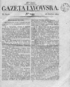 Gazeta Lwowska 1821 II, Nr 149