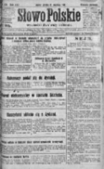 Słowo Polskie 1920, R.25, IV, Nr 574