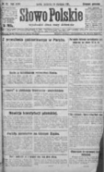 Słowo Polskie 1921, R.26, I, Nr 22