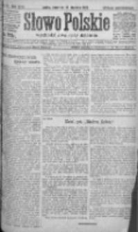 Słowo Polskie 1921, R.26, I, Nr 41