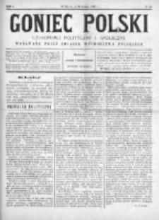 Goniec Polski : czasopismo polityczne i społeczne 1901, Nr 10