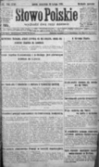 Słowo Polskie 1921, R.26, I, Nr 63