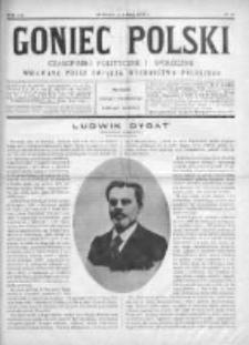 Goniec Polski : czasopismo polityczne i społeczne 1901, Nr 15