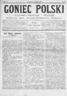Goniec Polski : czasopismo polityczne i społeczne 1901, Nr 20