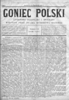 Goniec Polski : czasopismo polityczne i społeczne 1900, Nr 1
