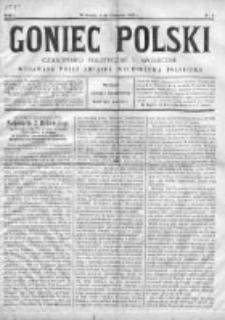 Goniec Polski : czasopismo polityczne i społeczne 1900, Nr 4