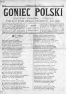 Goniec Polski : czasopismo polityczne i społeczne 1900, Nr 5