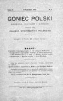 Goniec Polski : czasopismo polityczne i społeczne 1903, Nr 4