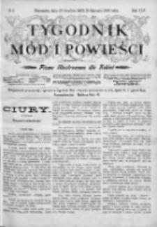 Tygodnik Mód i Powieści. Pismo ilustrowane dla kobiet 1903, Nr 2