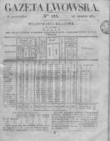 Gazeta Lwowska 1831 II, Nr 115