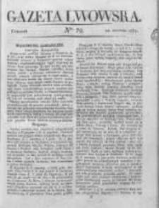 Gazeta Lwowska 1837 z dodatkiem, Nr 72