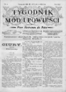 Tygodnik Mód i Powieści. Pismo ilustrowane dla kobiet 1903, Nr 4