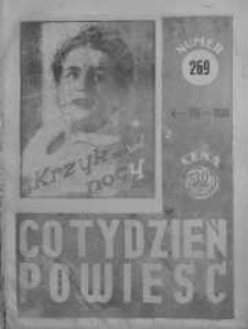 Co Tydzień Powieść 4 sierpień 1938 nr 269