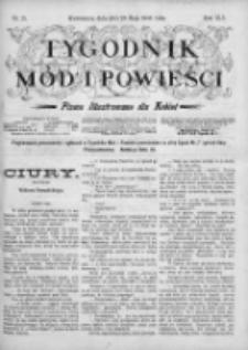 Tygodnik Mód i Powieści. Pismo ilustrowane dla kobiet 1903, Nr 21