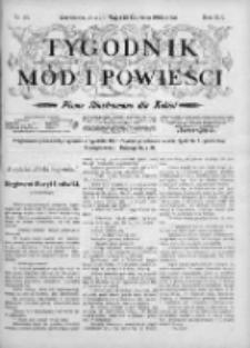 Tygodnik Mód i Powieści. Pismo ilustrowane dla kobiet 1903, Nr 24