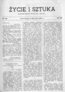 Życie i Sztuka. Pismo dodatkowe, ilustrowane 1901, Nr 28