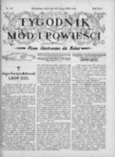 Tygodnik Mód i Powieści. Pismo ilustrowane dla kobiet 1903, Nr 30