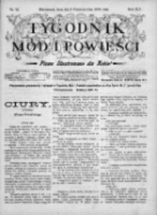 Tygodnik Mód i Powieści. Pismo ilustrowane dla kobiet 1903, Nr 42