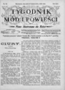 Tygodnik Mód i Powieści. Pismo ilustrowane dla kobiet 1903, Nr 44