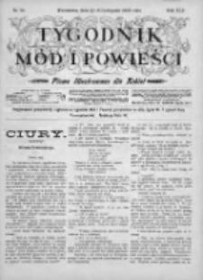 Tygodnik Mód i Powieści. Pismo ilustrowane dla kobiet 1903, Nr 46