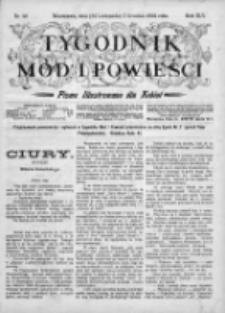 Tygodnik Mód i Powieści. Pismo ilustrowane dla kobiet 1903, Nr 49