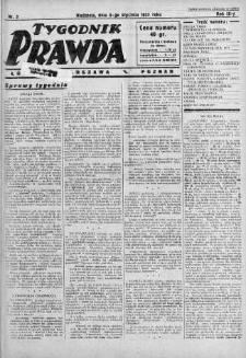 Tygodnik Prawda 8 styczeń 1933 nr 2