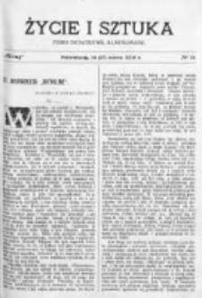 Życie i Sztuka. Pismo dodatkowe, ilustrowane 1903, Nr 11