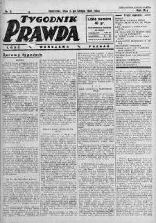 Tygodnik Prawda 5 luty 1933 nr 6