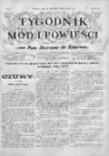 Tygodnik Mód i Powieści. Pismo ilustrowane dla kobiet 1904, Nr 6