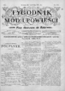 Tygodnik Mód i Powieści. Pismo ilustrowane dla kobiet 1904, Nr 8