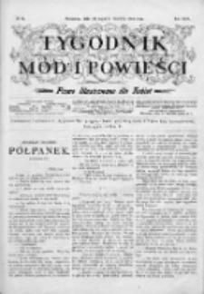 Tygodnik Mód i Powieści. Pismo ilustrowane dla kobiet 1904, Nr 24