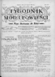 Tygodnik Mód i Powieści. Pismo ilustrowane dla kobiet 1904, Nr 25