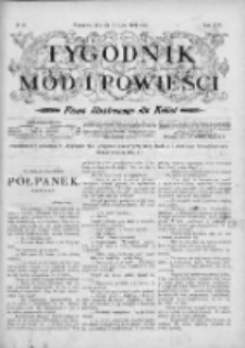 Tygodnik Mód i Powieści. Pismo ilustrowane dla kobiet 1904, Nr 29