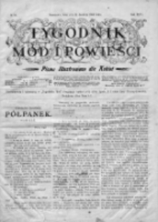 Tygodnik Mód i Powieści. Pismo ilustrowane dla kobiet 1904, Nr 52