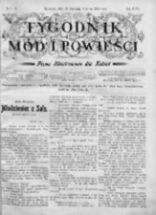 Tygodnik Mód i Powieści. Pismo ilustrowane dla kobiet 1905, Nr 5-6