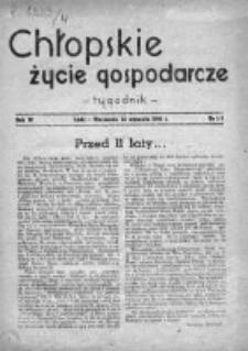 Chłopskie Życie Gospodarcze 1946, Nr 1-2