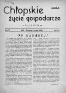 Chłopskie Życie Gospodarcze 1946, Nr 5-6