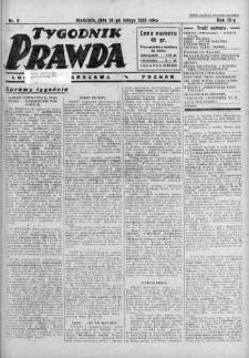 Tygodnik Prawda 26 luty 1933 nr 9