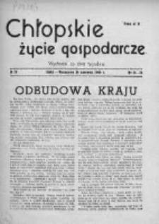 Chłopskie Życie Gospodarcze 1946, Nr 14-15