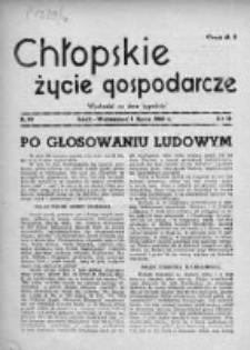 Chłopskie Życie Gospodarcze 1946, Nr 16