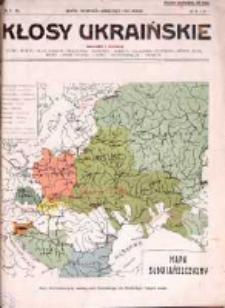 Kłosy Ukraińskie 1914, R.1, Nr 9-10