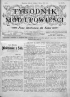 Tygodnik Mód i Powieści. Pismo ilustrowane dla kobiet 1905, Nr 10
